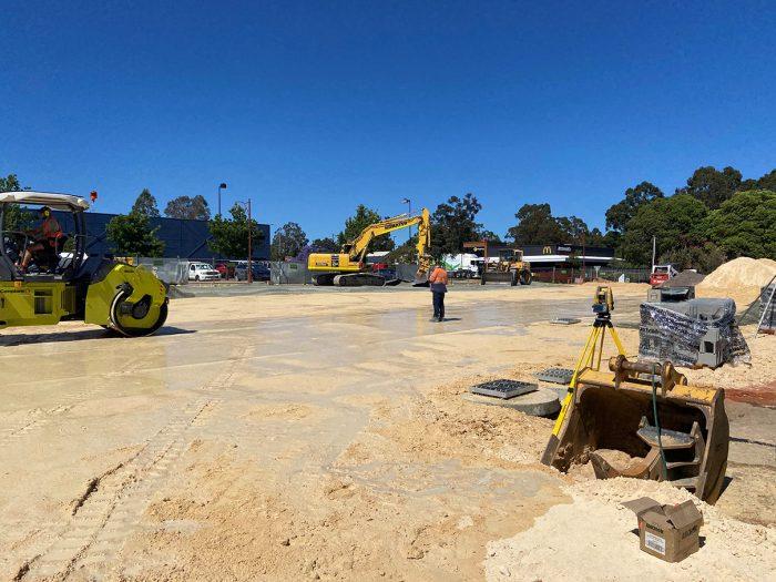 Ricciardo Earthmoving industrial earthworks in Mundaring