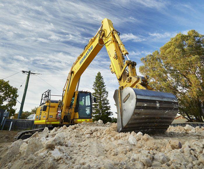Ricciardo Earthmoving excavator