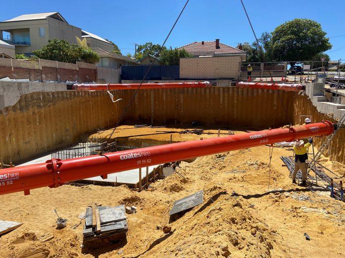 Ricciardo Earthmoving residential earthworks in Como